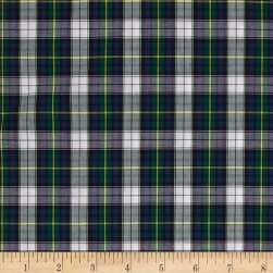 Kaufman Sevenberry Classic Plaids Kelly Fabric