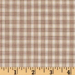 Kaufman Sevenberry Classic Plaids Tan Fabric