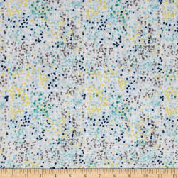 Shannon Embrace Double Gauze Fun Dot Blue Fabric