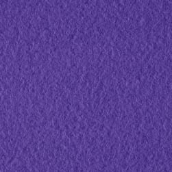 Double Brushed Solid Fleece Lavender Fabric