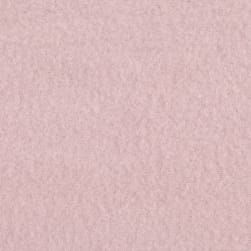 Double Brushed Solid Fleece Cotton Candy Pink Fabric