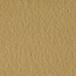 Double Brushed Solid Fleece Khaki Fabric