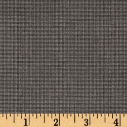 Farm to Table Gingham Grey Fabric