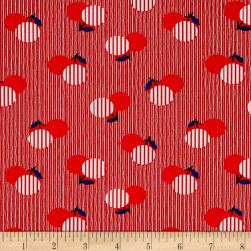 Dixie Flower Dot Red