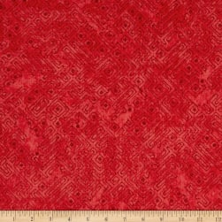 Native Spirit Tribal Blender Red Fabric