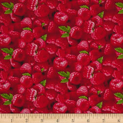 Berry Good Packed Raspberries