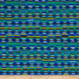 Brandon Mably Heat Wave Cobalt Fabric