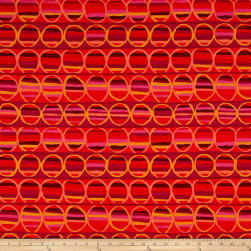 Brandon Mably Heat Wave Tomato Fabric