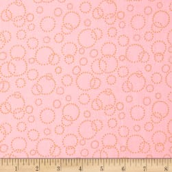 "110"" Wide Quilt Back Champagne Pink Gold"