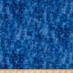 Timeless Treasures Flannel Studio Texture Blue Fabric