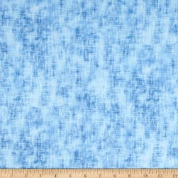 Timeless Treasures Flannel Studio Texture Sky Fabric