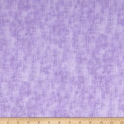 Timeless Treasures Flannel Studio Texture Lilac Fabric