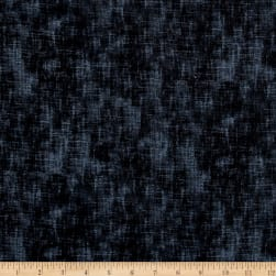 Timeless Treasures Flannel Studio Texture Charcoal Fabric