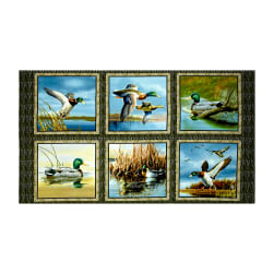 Duck Lake Picture 24'' Panel Patches Multi Fabric