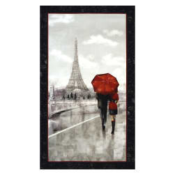 "Artworks Digital Couple in Paris24""  Panel Gray"