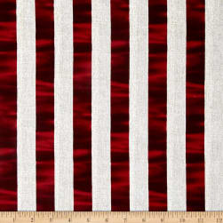 Oh My Stars American Classic Channel Stripe Red/White
