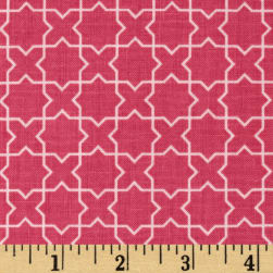 Riley Blake Wonderland Labyrinth Pink Fabric