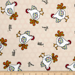 Minky Red Rooster Red Fabric