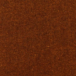 Kaufman Essex Yarn Dyed Linen Blend Cinnamon Fabric