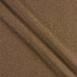 Kaufman Essex Yarn Dyed Linen Blend Nutmeg Fabric
