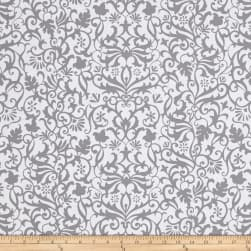Near and Deer Damask Gray