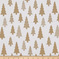 Near and Deer Tree's Tan Fabric