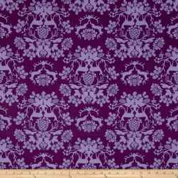 Riley Blake Organica Damask Purple