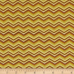 Riley Blake Bittersweet Chevron Green Fabric