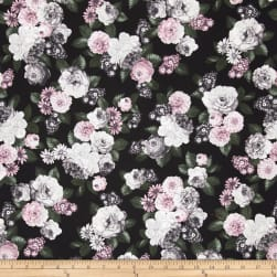 Floral Perspective Large Floral Tea Rose Fabric