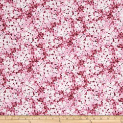 Floral Perspective Flower Petals Tea Rose Fabric