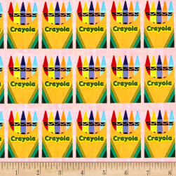 Riley Blake Crayola Box Pink Fabric