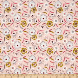 Captivate Floral Pink Fabric
