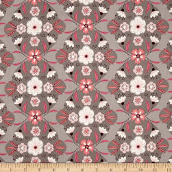 Captivate Damask Taupe Fabric