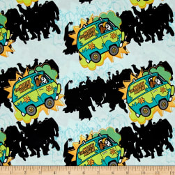 Scooby Doo The Mystery Machine Blue