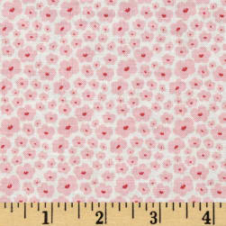 Riley Blake Posy Garden Small Floral Cream Fabric