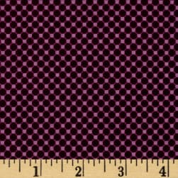Riley Blake Posy Garden Grid Purple Fabric