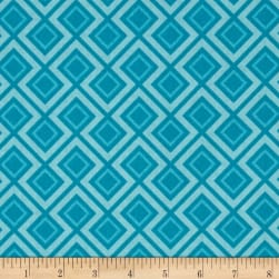 Riley Blake Fantine Geometric Blue Fabric