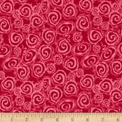 Riley Blake Fantine Swirl Berry Fabric