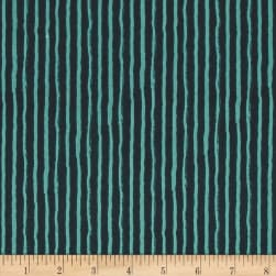 Riley Blake Knock on Wood Stripe Navy