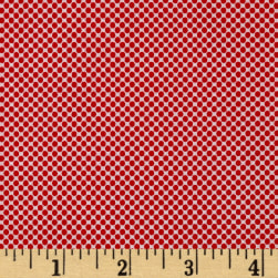 Riley Blake Princess Dream Dot Red Fabric