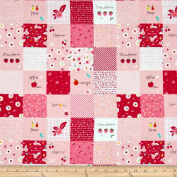 Riley Blake Sweet Orchard Designer Cloth Pink