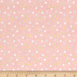 Riley Blake Sweet Orchard Dot Pink Fabric