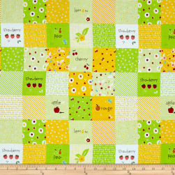 Riley Blake Sweet Orchard Designer Cloth Green Fabric