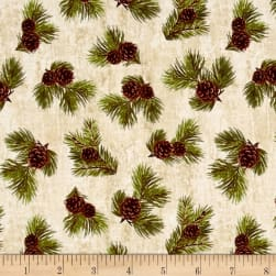 Penny Rose Majestic Outdoors Pinecone White