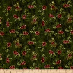 Penny Rose Majestic Outdoors Pinecone Green