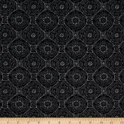Mosaic Tile Kashmere Sweater Black/Gray Fabric