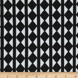 Ponte de Roma Verticle Checkerboard Black/White