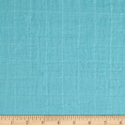 Bambino Double Gauze Solid Sky Fabric