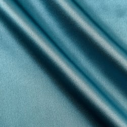 100% Silk Charmeuse Teal Fabric