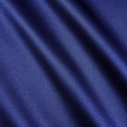 100% Silk Charmeuse Navy Fabric